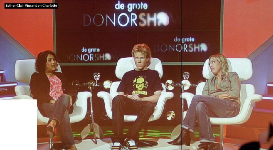 De Grote Donorshow, TV programma, BNN, 2007